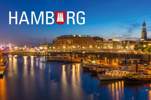 Kühlschrankmagnet Hamburg Binnenhafen