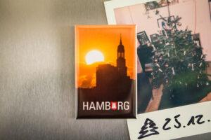 Kühlschrankmagnet Hamburg Michel
