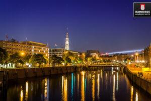 Zollkanal Hamburg Speicherstadt