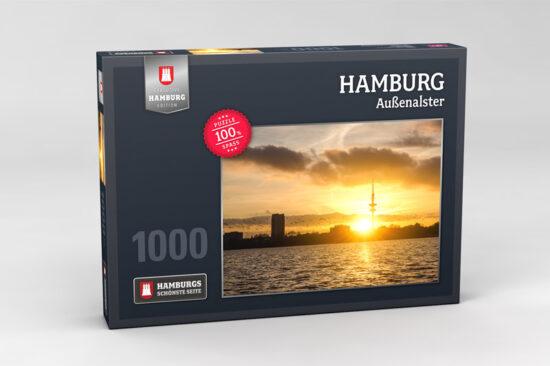 Hamburg Puzzle Aussenalster