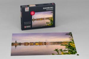 Hamburg Puzzle Binnenalster