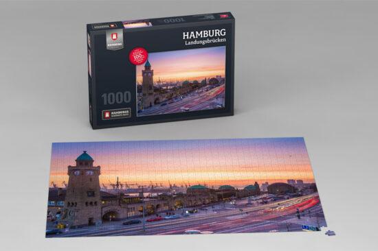 Hamburg Puzzle Landungsbrücken