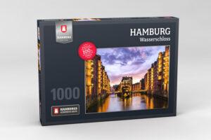 Hamburg Puzzle Wasserschloss