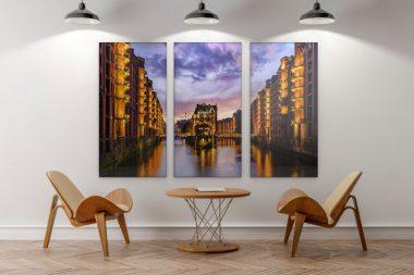 Acrylbilder Hamburg hamburg bilder als leinwand acrylglas oder poster für die wand