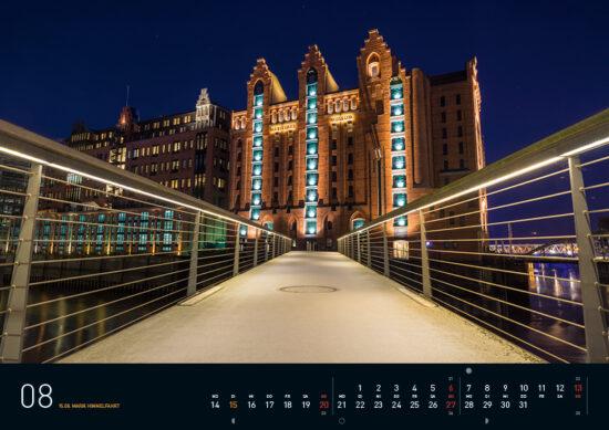 Hamburg Kalender 2017 August