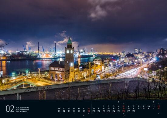 Hamburg Kalender 2017 Februar