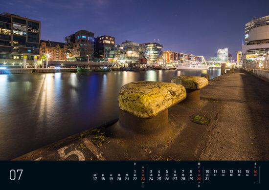 Hamburg Kalender 2017 Juli