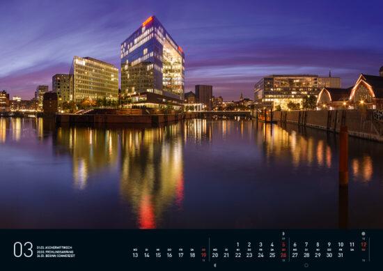 Hamburg Kalender 2017 Maerz