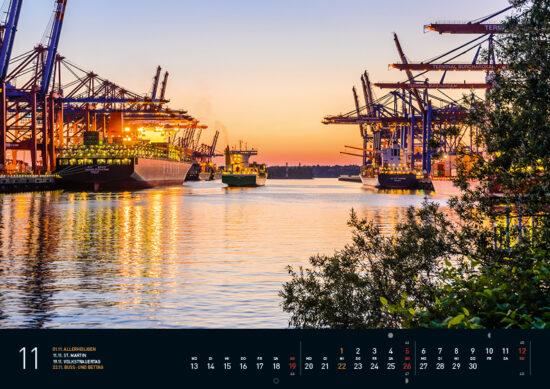 Hamburg Kalender 2017 November