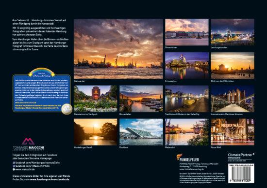 Hamburg Kalender 2017 Rueckseite