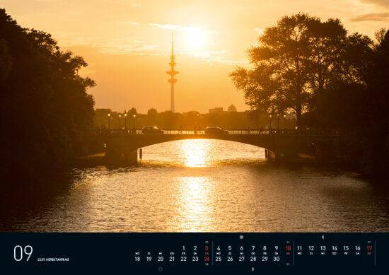 Hamburg Kalender 2017 September