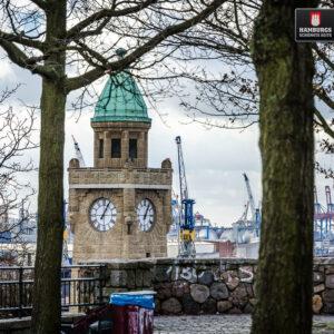 Hamburg Stintfang auf Holz