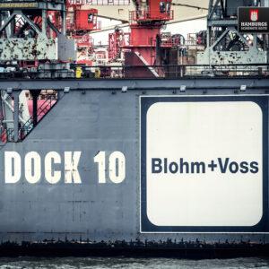 Hamburg Dock 10 auf Holz