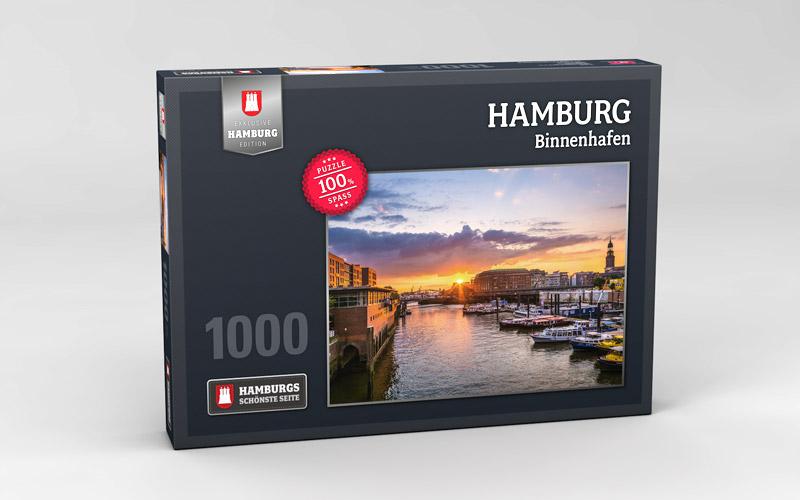Hamburg Puzzle Binnenhafen