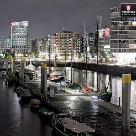 Hamburg HafenCity auf Holz