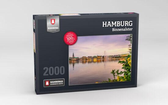 Hamburg Puzzle Binnenalster 2000 Teile