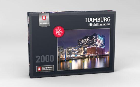 Hamburg Puzzle Elbphilharmonie 2000 Teile