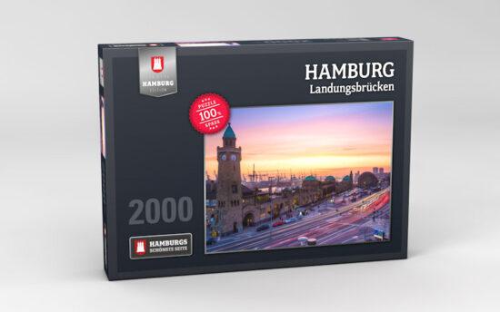 Hamburg Puzzle Landungsbruecken 2000 Teile