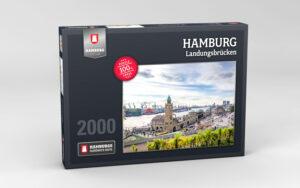 Hamburg Puzzle Landungsbruecken Tag 2000 Teile