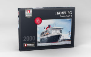 Hamburg Puzzle Queen Mary2 2000 Teile