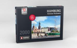 Hamburg Puzzle Rickmer Rickmers 2000 Teile