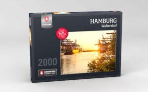 Hamburg Puzzle Waltershof 2000 Teile