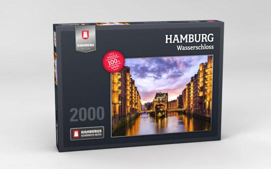 Hamburg Puzzle Wasserschloss 2000 Teile
