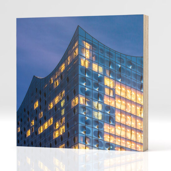 hamburg elbphilharmonie auf holz. Black Bedroom Furniture Sets. Home Design Ideas