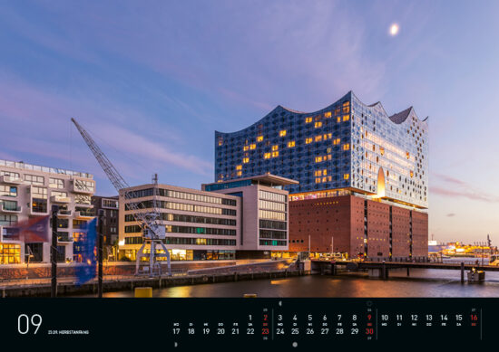September – Hamburg Kalender 2018