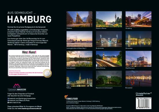Rückseite – Hamburg Kalender 2018