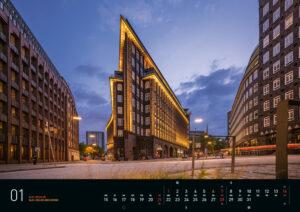 Januar – Hamburg Kalender 2018