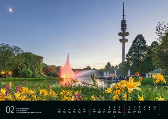 Februar – Hamburg Kalender 2018