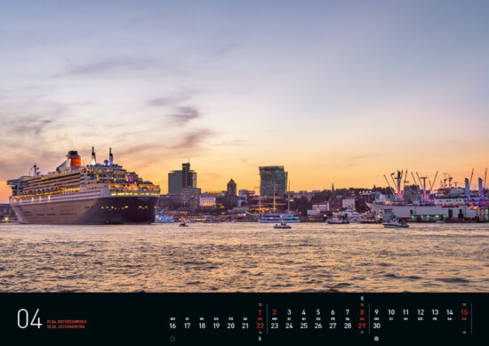 April – Hamburg Kalender 2018