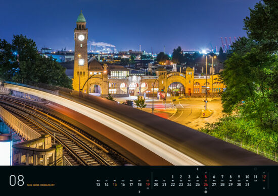 August – Hamburg Kalender 2018