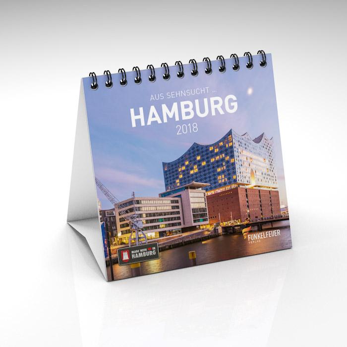 Hamburg Tischkalender 2018