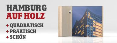 Hamburg Holz Quadrate