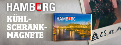 Hamburg Kühlschrankmagnete