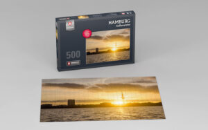 Hamburg Puzzle Außenalster 500 Teile