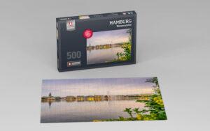 Hamburg Puzzle Binnenalster 500 Teile