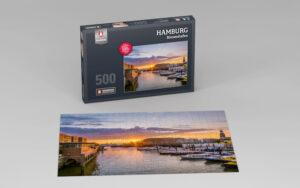 Hamburg Puzzle Binnenhafen 500 Teile