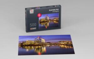 Hamburg Puzzle Ericusspitze 500 Teile
