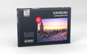 Hamburg Puzzle Landungsbruecken 500 Teile