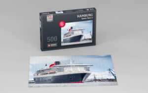 Hamburg Puzzle Queen Mary 2 500 Teile