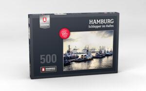 Hamburg Puzzle Schlepper 500 Teile