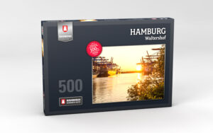 Hamburg Puzzle Waltershof 500 Teile