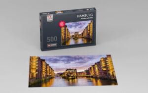 Hamburg Puzzle Wasserschloss 500 Teile