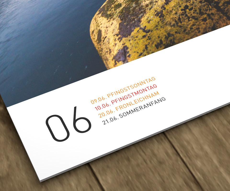 Aus Sehnsucht Hamburg Bildkalender 2019