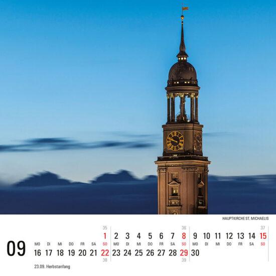 Hamburg Tischkalender 2019