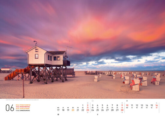 Deutschland Wandkalender 2019
